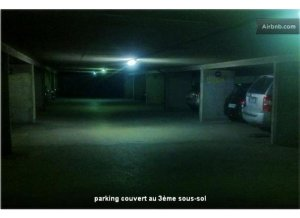 Location de Parking abrité : 17 Rue Vitruve 75020 Paris