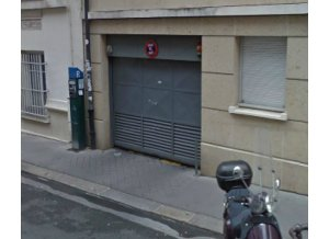 Location de Parking abrité : 6 Rue d'Arsonval 75015 Paris