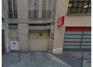 Location de Parking abrité : 15   Rue Geoffroy l'Angevin 75004 Paris