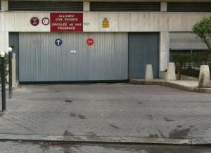 Location de Parking abrité : 101 Avenue Felix Faure, France