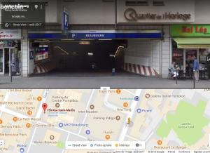 Location de Parking abrité : 29 Rue Beaubourg, 29, France