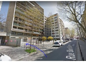 Location de Parking abrité : 69 Rue Saint-Blaise, Paris, France