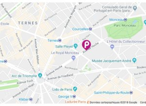 Location de Parking abrité : 18 Avenue Hoche, Paris, France