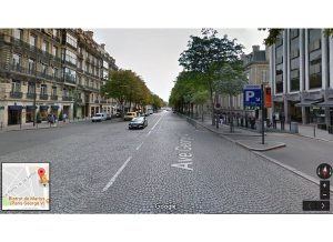 Place de parking à louer : 19 Avenue George V, 75008 Paris, France