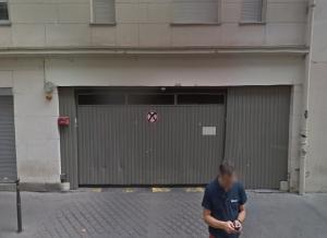 Location de Parking abrité : 14 Rue des Bourdonnais, Paris, France