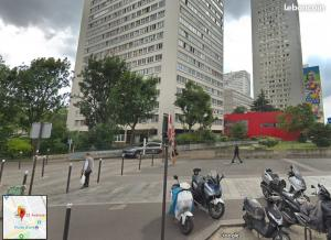Location de Parking abrité : 21 Avenue d'Ivry, 75013 Paris, France